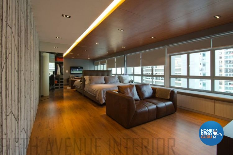 Minimalist, Modern Design - Bedroom - HDB Executive Apartment - Design by Fifth Avenue Interior Design