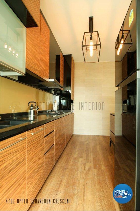 Contemporary, Modern Design - Kitchen - HDB 4 Room - Design by Fifth Avenue Interior Design
