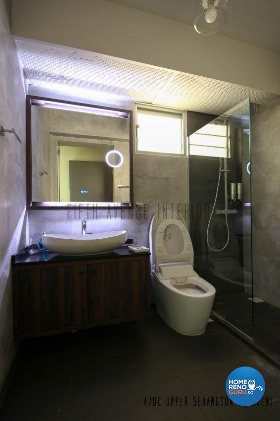 Contemporary, Modern Design - Bathroom - HDB 4 Room - Design by Fifth Avenue Interior Design