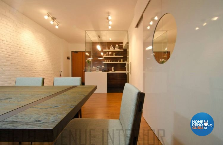 Minimalist, Modern Design - Dining Room - HDB 4 Room - Design by Fifth Avenue Interior Design