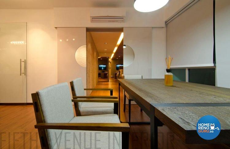 Minimalist, Modern Design - Dining Room - HDB 4 Room - Design by Fifth Avenue Interior Design