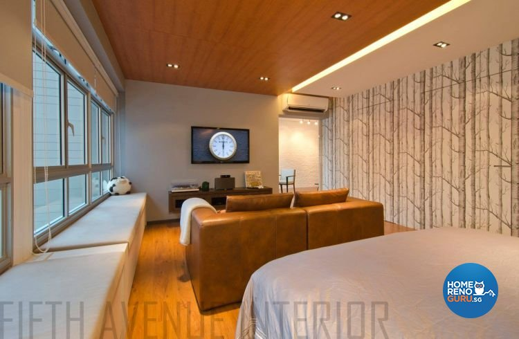 Minimalist, Modern Design - Bedroom - HDB 4 Room - Design by Fifth Avenue Interior Design