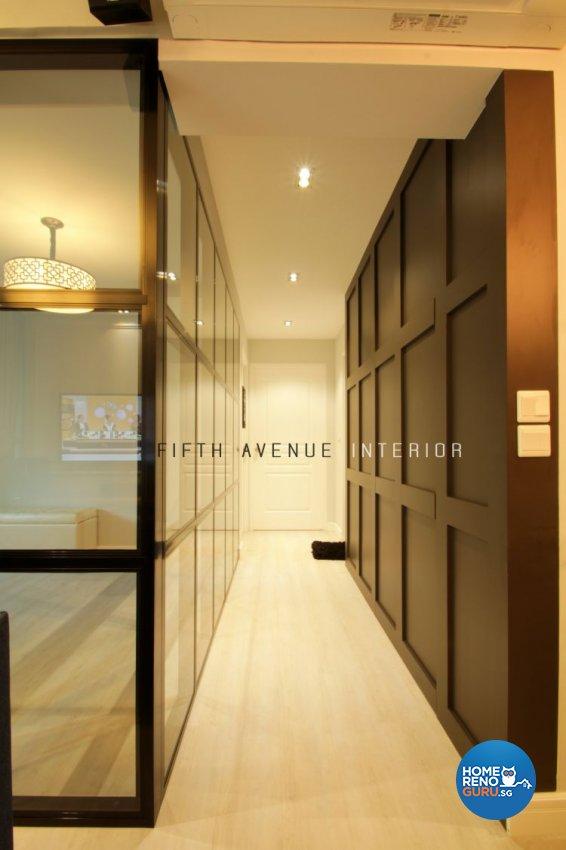 Classical, Modern Design - Living Room - HDB 4 Room - Design by Fifth Avenue Interior Design
