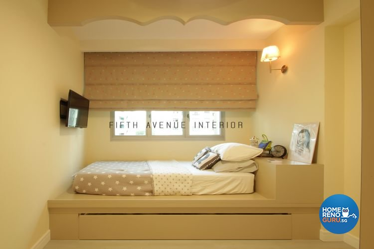 Classical, Modern Design - Bedroom - HDB 4 Room - Design by Fifth Avenue Interior Design