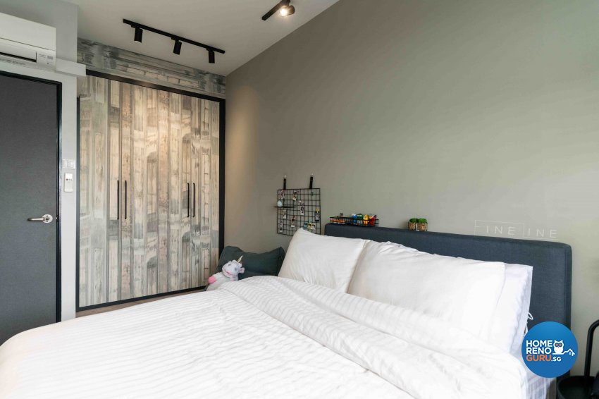Contemporary Design - Bedroom - HDB 5 Room - Design by Fineline Design Pte Ltd