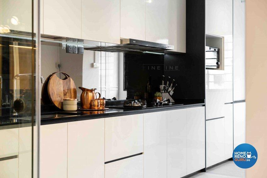 Classical, Others Design - Kitchen - HDB 3 Room - Design by Fineline Design Pte Ltd