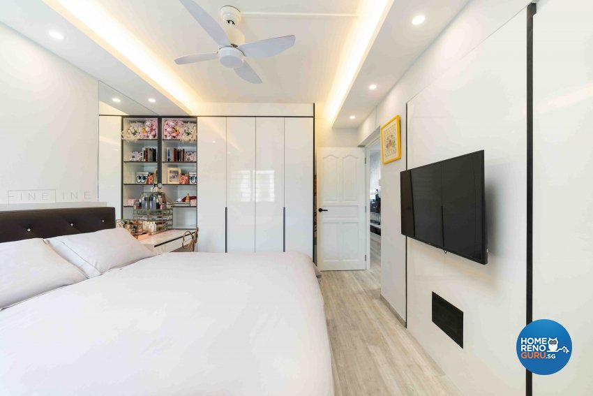 Classical, Others Design - Bedroom - HDB 3 Room - Design by Fineline Design Pte Ltd