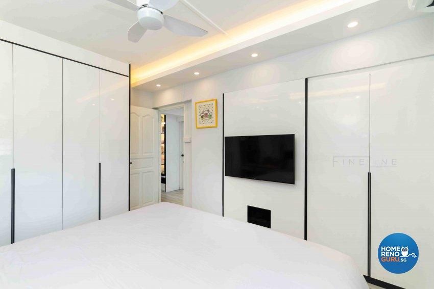 Classical, Others Design - Bedroom - HDB 3 Room - Design by Fineline Design Pte Ltd