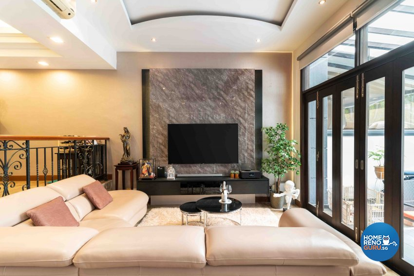 Contemporary, Others Design - Living Room - Landed House - Design by Fineline Design Pte Ltd