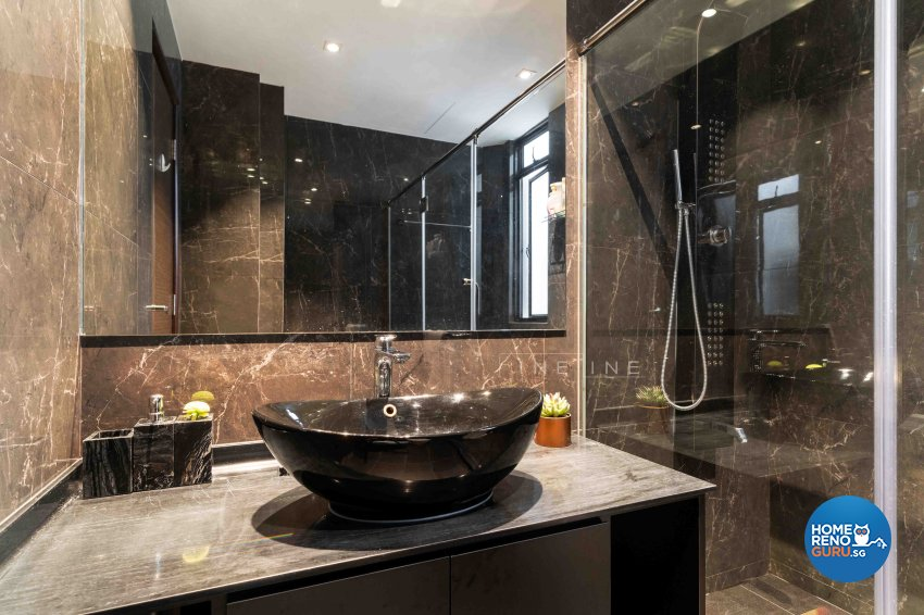 Contemporary, Others Design - Bathroom - Landed House - Design by Fineline Design Pte Ltd