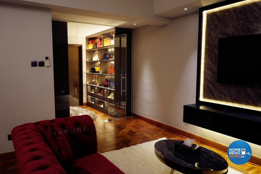 Contemporary, Others Design - Bedroom - Landed House - Design by Fineline Design Pte Ltd
