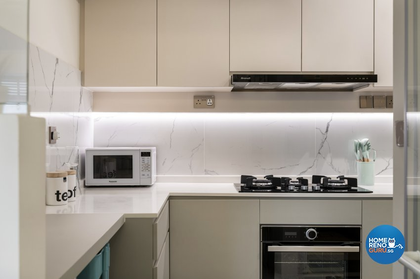 Others, Scandinavian Design - Kitchen - HDB 4 Room - Design by Fineline Design Pte Ltd