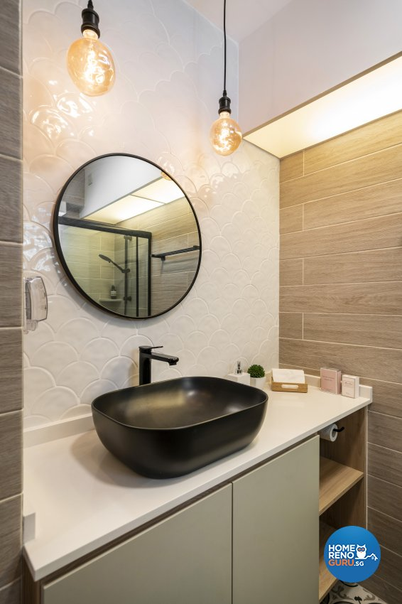 Others, Scandinavian Design - Bathroom - HDB 4 Room - Design by Fineline Design Pte Ltd
