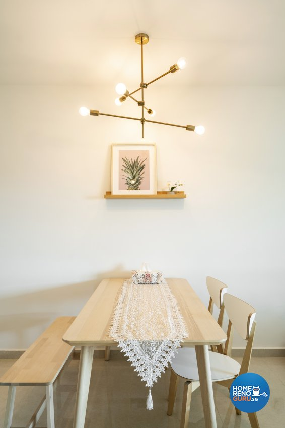 Others, Scandinavian Design - Dining Room - HDB 4 Room - Design by Fineline Design Pte Ltd