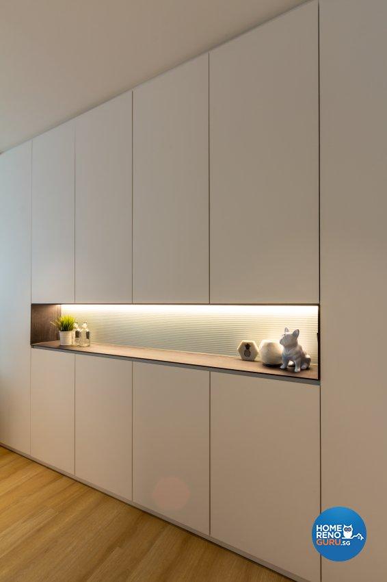 Modern, Scandinavian Design - Living Room - HDB 3 Room - Design by Fineline Design Pte Ltd