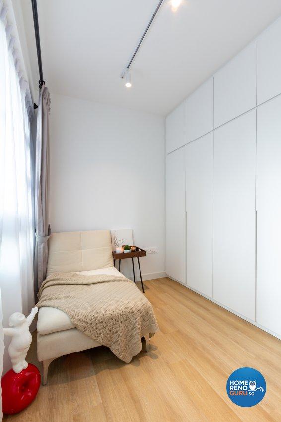 Modern, Scandinavian Design - Entertainment Room - HDB 3 Room - Design by Fineline Design Pte Ltd