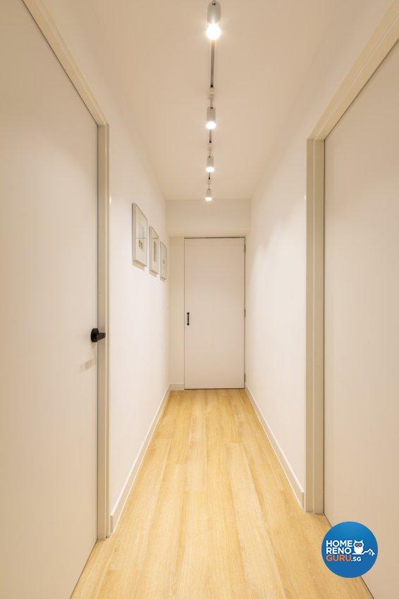 Modern, Scandinavian Design - Bedroom - HDB 3 Room - Design by Fineline Design Pte Ltd