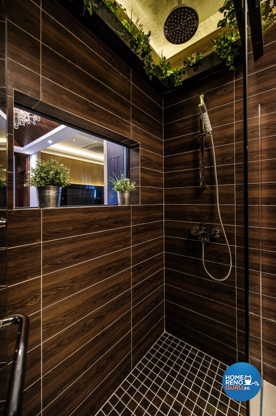 Contemporary, Eclectic Design - Bathroom - Office - Design by Fineline Design Pte Ltd