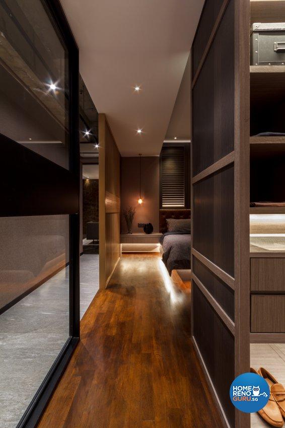 Contemporary, Eclectic Design - Bedroom - Office - Design by Fineline Design Pte Ltd