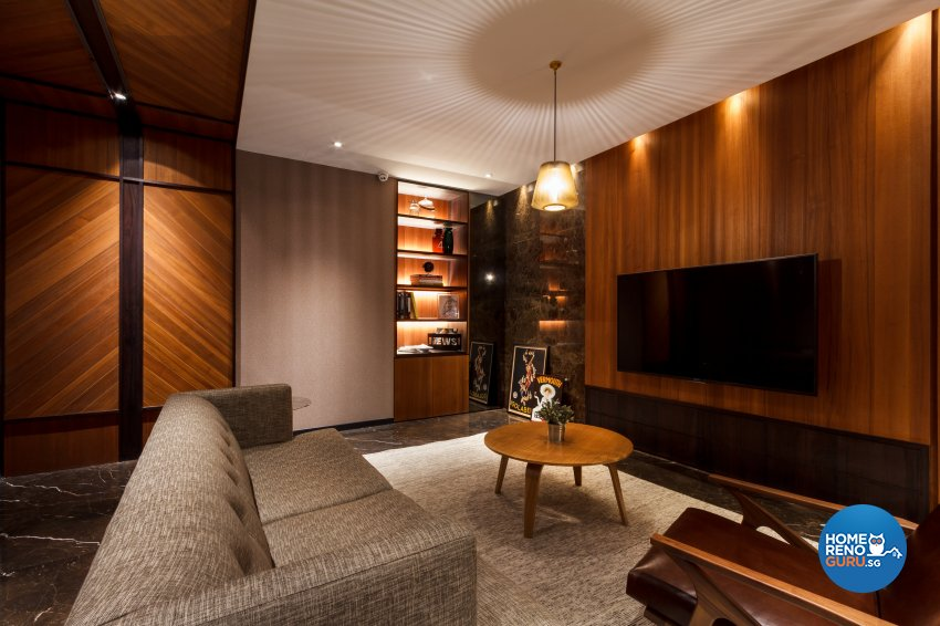 Contemporary, Eclectic Design - Living Room - Office - Design by Fineline Design Pte Ltd