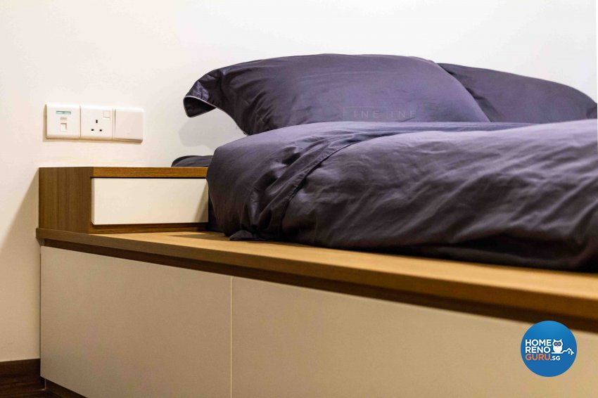 Industrial, Modern Design - Bedroom - Condominium - Design by Fineline Design Pte Ltd