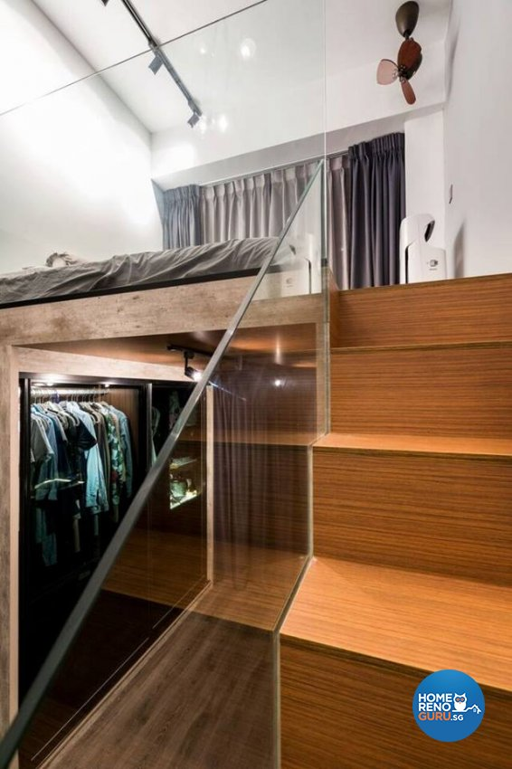 Modern, Rustic Design - Bedroom - Condominium - Design by Fineline Design Pte Ltd