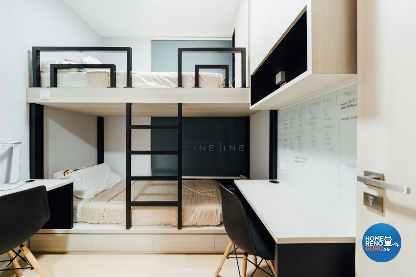 Contemporary Design - Bedroom - Condominium - Design by Fineline Design Pte Ltd