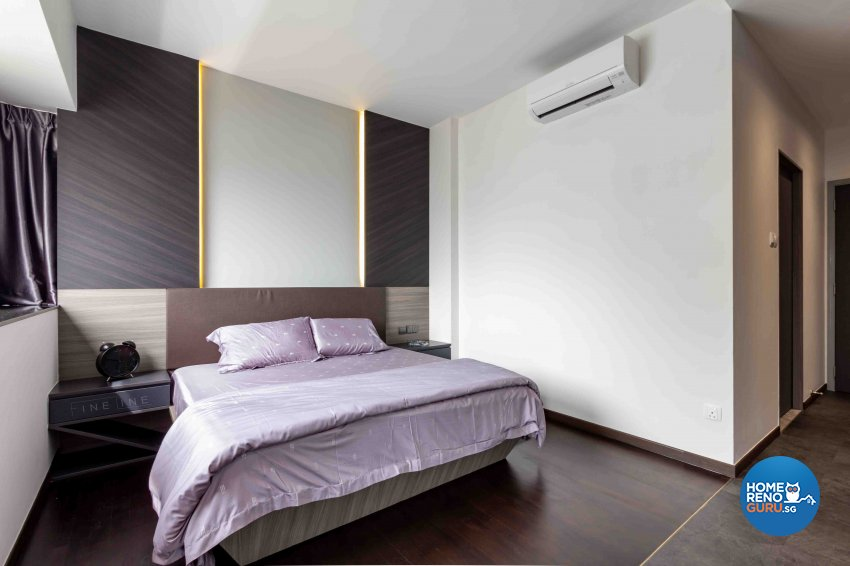 Industrial, Modern Design - Bedroom - Condominium - Design by Fineline Design Pte Ltd