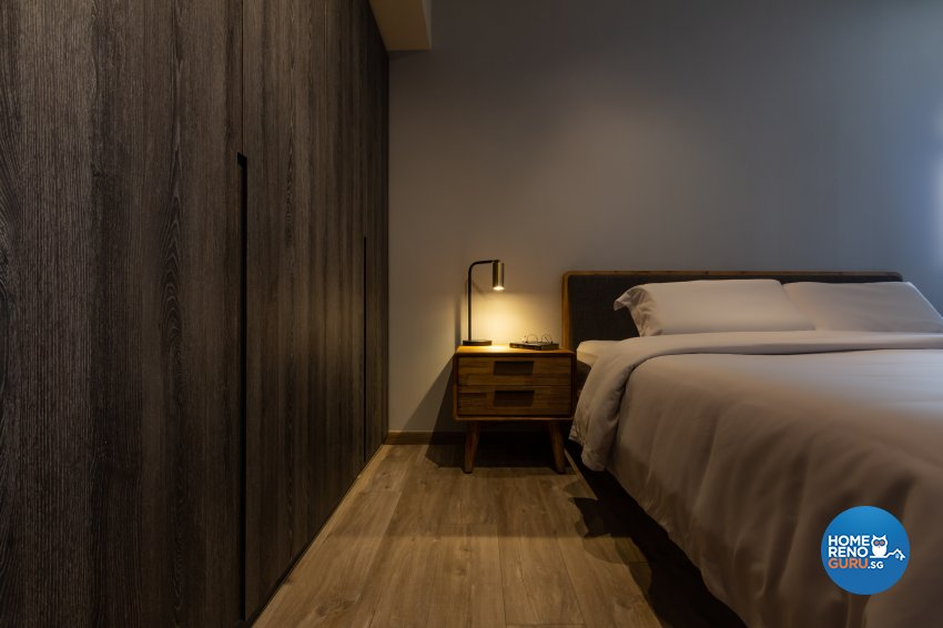 Contemporary, Industrial, Modern Design - Bedroom - HDB 5 Room - Design by Fineline Design Pte Ltd