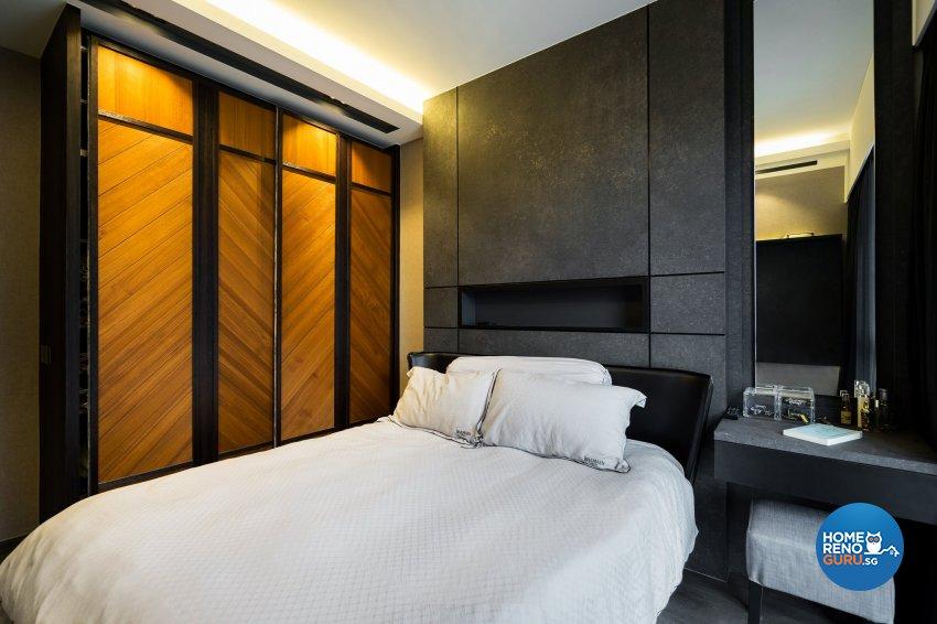 Scandinavian Design - Bedroom - Condominium - Design by Fineline Design Pte Ltd