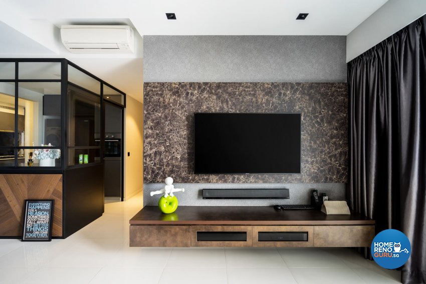 Scandinavian Design - Living Room - Condominium - Design by Fineline Design Pte Ltd