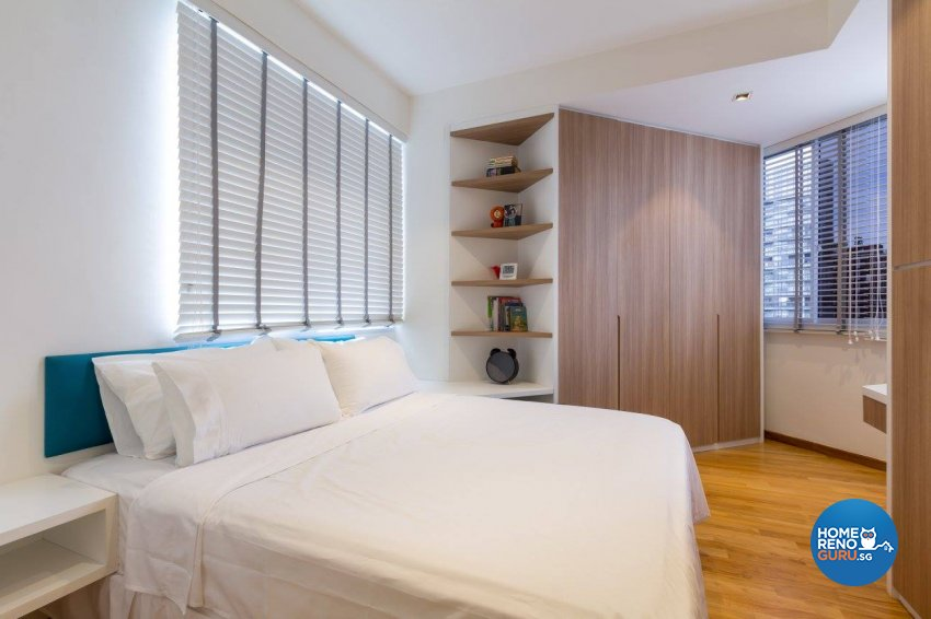 Contemporary, Modern Design - Bedroom - Condominium - Design by Fineline Design Pte Ltd
