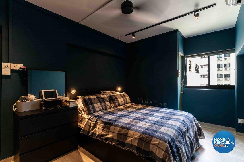 Scandinavian Design - Bedroom - HDB 3 Room - Design by Fineline Design Pte Ltd
