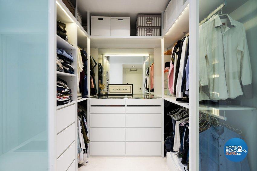 Minimalist Design - Entertainment Room - HDB 4 Room - Design by Fineline Design Pte Ltd