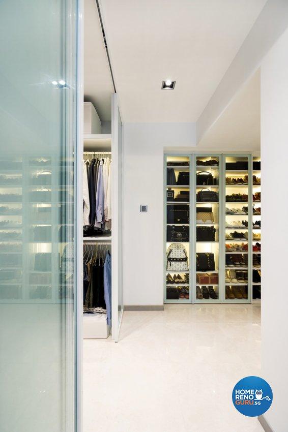 Minimalist Design - Bedroom - HDB 4 Room - Design by Fineline Design Pte Ltd
