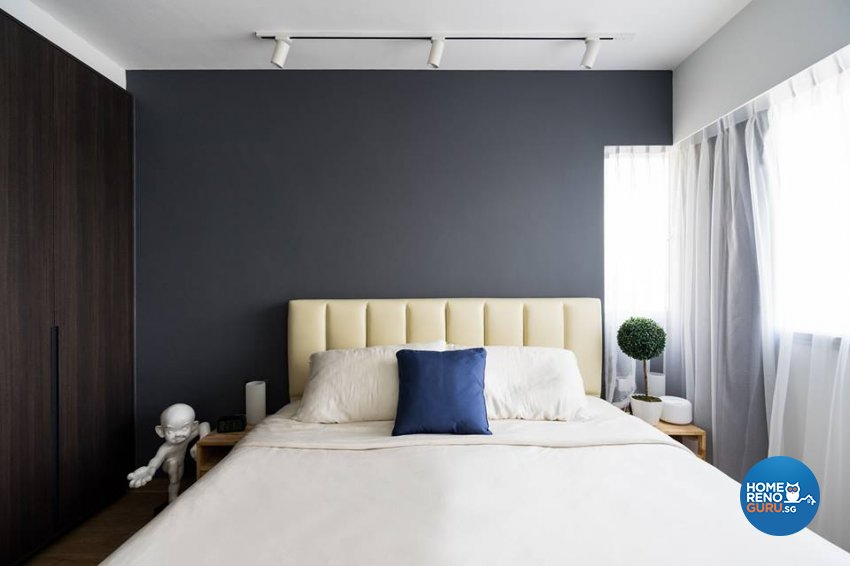 Contemporary, Scandinavian Design - Bedroom - HDB 4 Room - Design by Fineline Design Pte Ltd