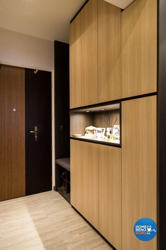 Scandinavian Design - Living Room - HDB 4 Room - Design by Fineline Design Pte Ltd