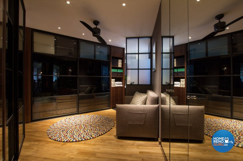 Contemporary, Modern Design - Bedroom - HDB 4 Room - Design by Fineline Design Pte Ltd