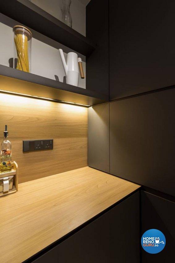 Scandinavian Design - Kitchen - HDB 4 Room - Design by Fineline Design Pte Ltd
