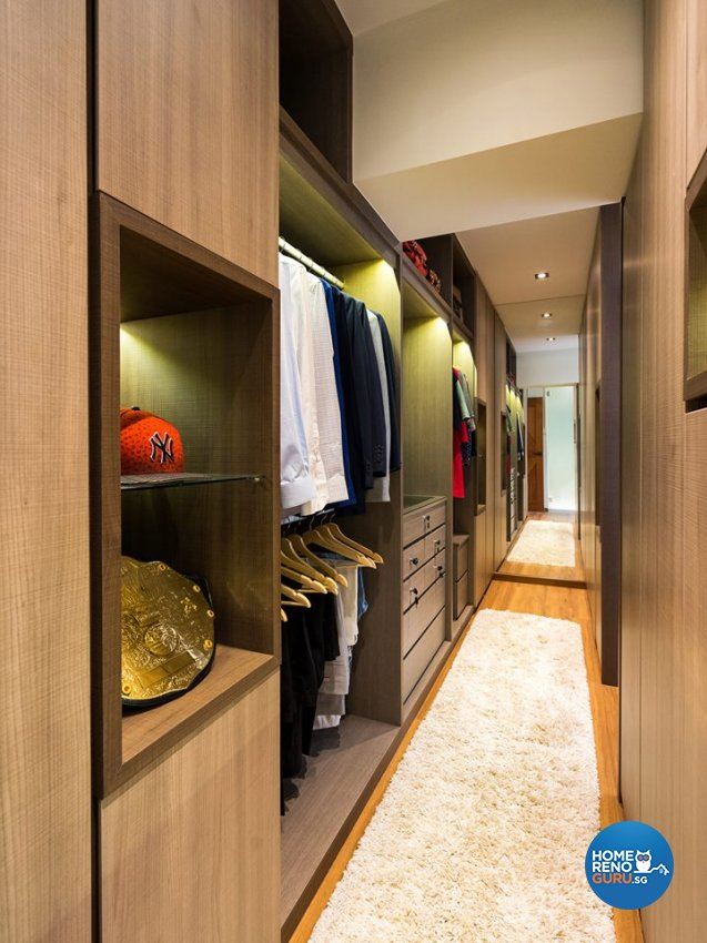 Contemporary Design - Bedroom - HDB 5 Room - Design by Fineline Design Pte Ltd