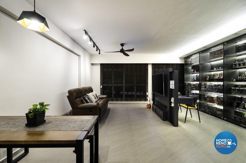 Fineline Design Pte Ltd-HDB 5-Room package