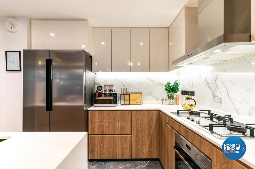 Modern, Others Design - Kitchen - Condominium - Design by Fineline Design Pte Ltd