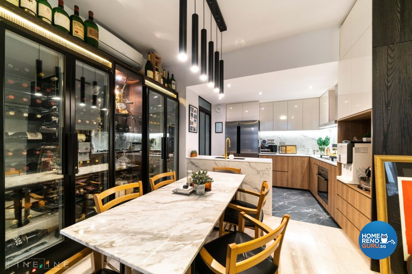 Modern, Others Design - Dining Room - Condominium - Design by Fineline Design Pte Ltd