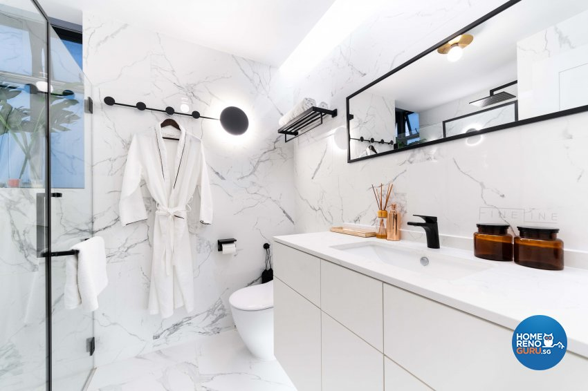 Modern, Others Design - Bathroom - Condominium - Design by Fineline Design Pte Ltd