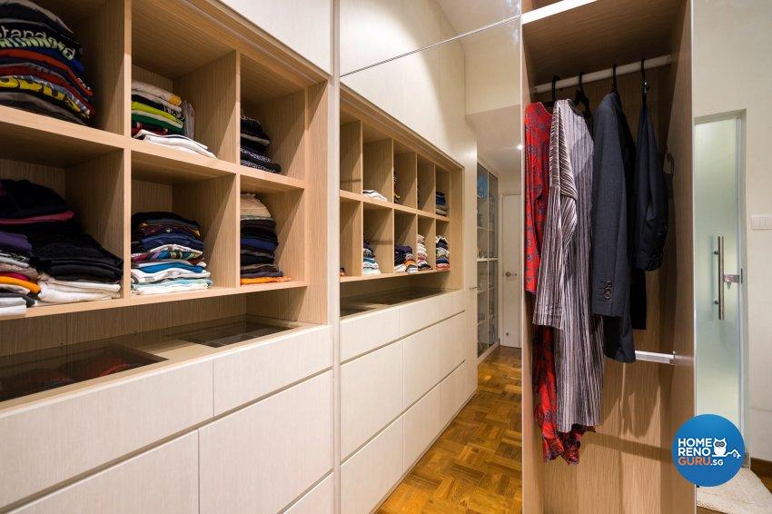 Contemporary Design - Bedroom - Landed House - Design by Fineline Design Pte Ltd