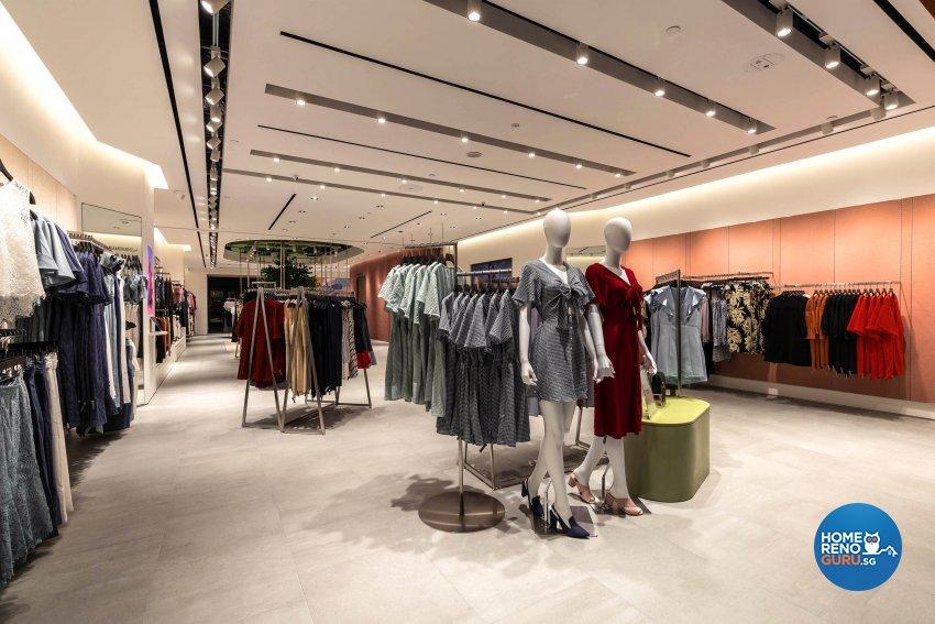 Modern, Tropical Design - Commercial - Retail - Design by Fineline Design Pte Ltd