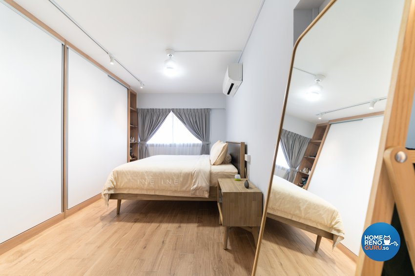 Modern Design - Bedroom - HDB Executive Apartment - Design by Fineline Design Pte Ltd