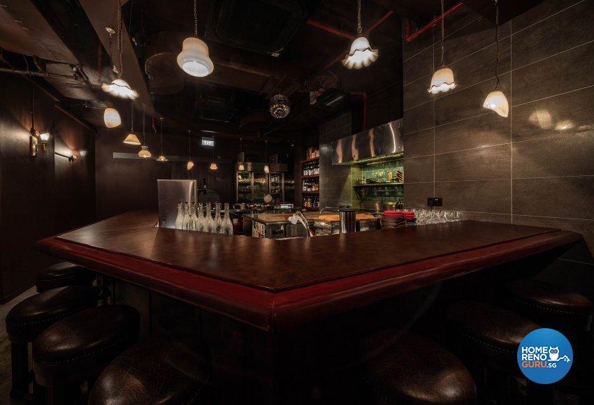 Oriental Design - Commercial - Retail - Design by Fineline Design Pte Ltd