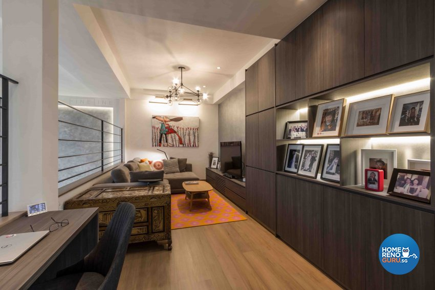 Contemporary Design - Study Room - Condominium - Design by Fineline Design Pte Ltd