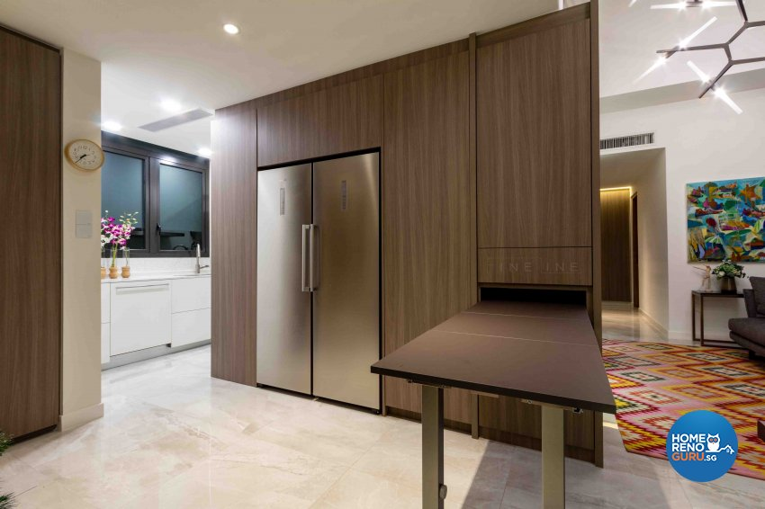 Contemporary Design - Dining Room - Condominium - Design by Fineline Design Pte Ltd